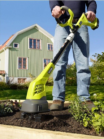 Cordless green cultivator.