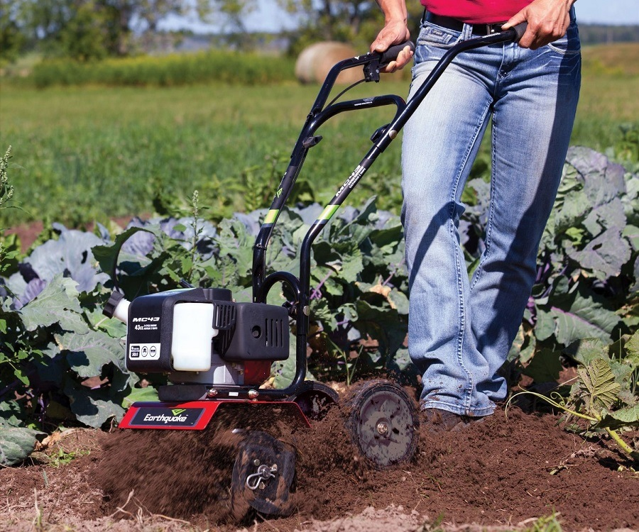 Earthquake MC43 Mini Cultivator Tiller Review