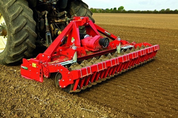 Power harrow.