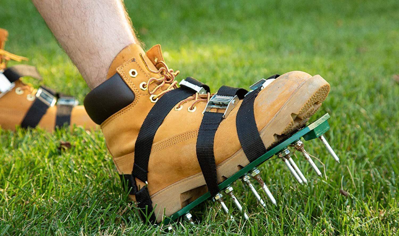 punchau lawn aerator shoes image