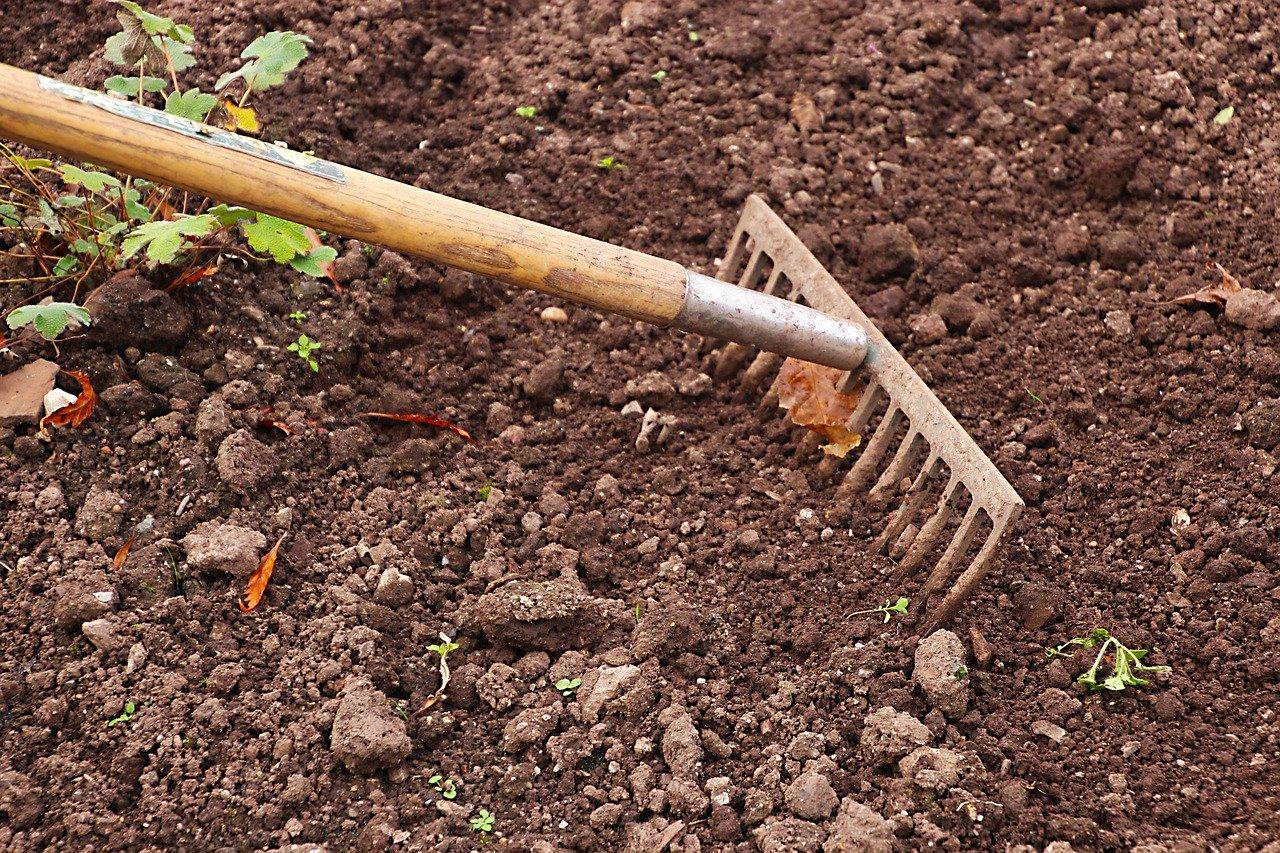 soil aeration rake image