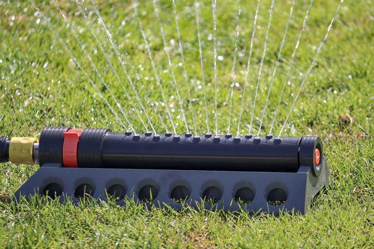 water sprinkler image