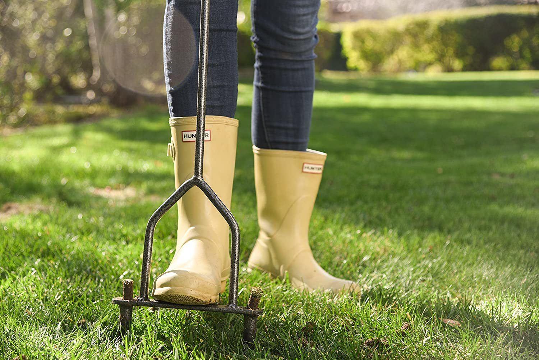 yard butler lawn coring aerator image